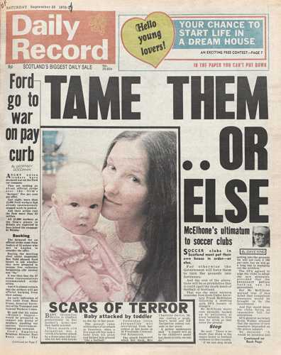 Daily Record 23 September 1978