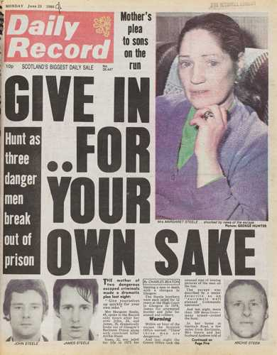 Daily Record 23 June 1980