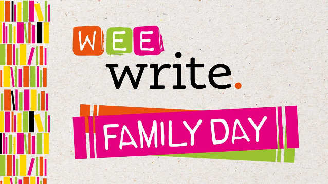 Wee Write Family Day 2020 logo