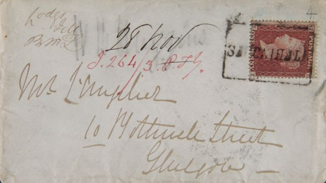 Madeleine Smith envelope