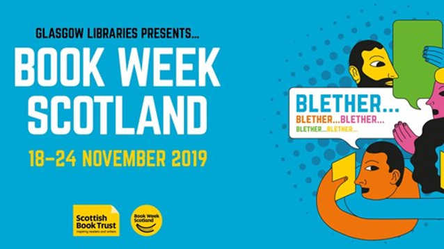 Book Week Scotland 2019 marketing poster