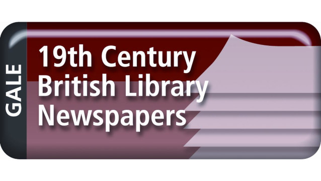 19th Century British Library newspapers logo
