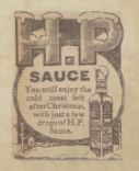advert for HP Sauce
