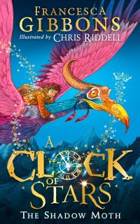 A clock of stars, the shadow moth, Illustrated by Chris Riddell