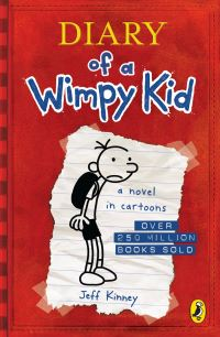 Diary of a wimpy kid, Greg Heffley's Journal, illustrated by J. Kinney