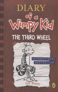 Diary of a wimpy kid, the third wheel, illustrated by J. Kinney