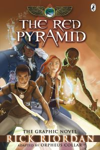 The red pyramid, adapted by Orpheus Collar, the graphic novel