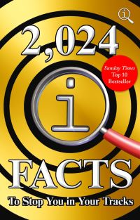 2,024 QI facts to stop you in your tracks, compiled by John Lloyd, James Harkin & Anne Miller