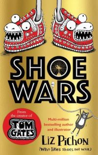 Shoe wars, Illustrated by Liz Pichon