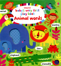 Animal words, illustrated by S. Baggott