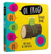 Oi Frog!, Illustrated by Jim Field, shouted by David Mitchell