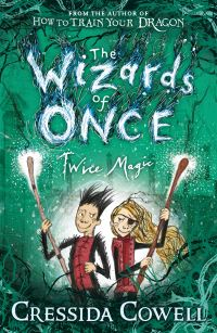 Twice magic, Illustrated by Cressida Cowell