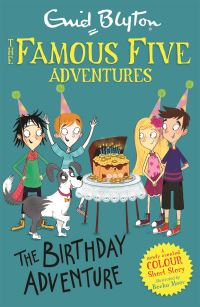 The birthday adventure, Illustrated by Becka Moor
