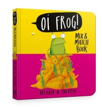 Oi Frog!, mix & match book, Illustrated by Jim Field