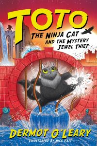 Toto the ninja cat and the mystery jewel thief, Illustrated by Nick East