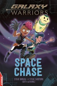 Space chase, Illustrated by Santy Gutierrez
