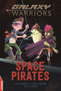 Space pirates, Illustrated by Santy Gutierrez