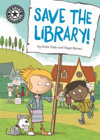 Save the library!, Illustrated by Nigel Baines