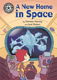 A new home in space, Illustrated by Jose Rubert