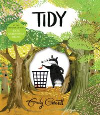 Tidy, Illustrated by Emily Gravett