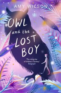 Owl and the lost boy, Illustrated by Helen Crawford-White