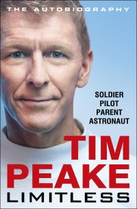 Limitless, the autobiography, Tim Peake