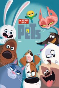 The secret life of pets, Illustrated by Goum