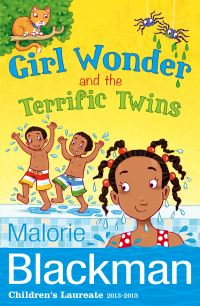 Girl Wonder and the Terrific Twins, illustrated by J. Smith