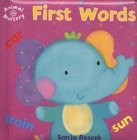 First words, illustrated by S. Rescek