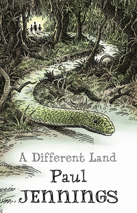 A different land, Illustrated by Geoff Kelly