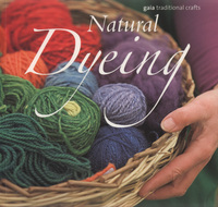 Natural dyeing, Jackie Crook with Geraldine Christy