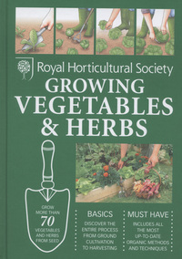 Growing vegetables & herbs, author, Guy Barter